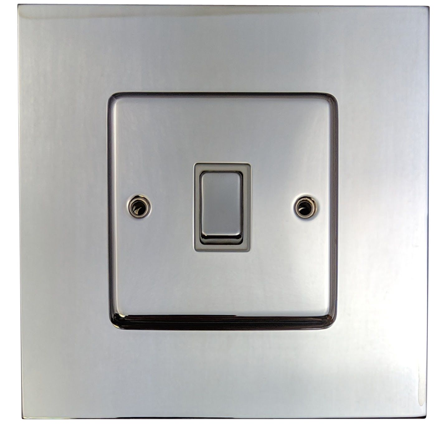G Amp H 809c Polished Chrome Finger Plate Surround 152mm X